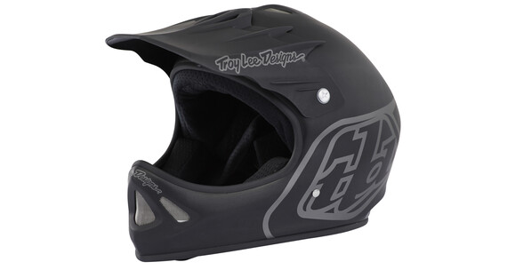Troy Lee Designs D2 Midnight 2 Kask Fullface czarny